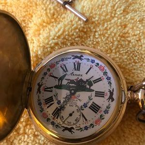 Vintage arnex pocket watch